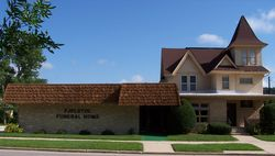Our large, modern funeral home from the outside